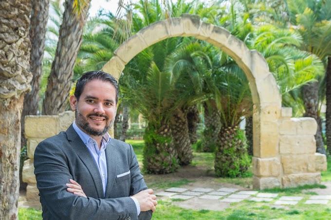 David Caballero asegura que el centro político decidirá el gobierno de Elche el 26M