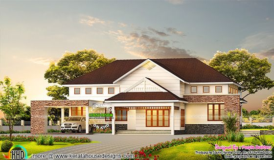 3000 sq-ft 4 bedroom Bungalow home