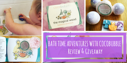 Bath Time Adventures with Cocobubble - Review & Giveaway