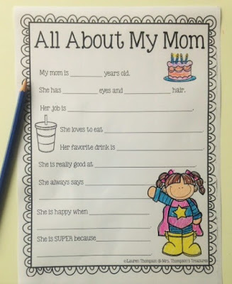 http://www.mrsthompsonstreasures.com/2016/04/fun-mothers-day-writing-activity-crafts.html