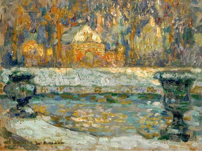 Henri le sidaner intimist painter tutt 39 art pittura for In their paintings the impressionists often focused on