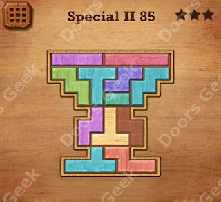Cheats, Solutions, Walkthrough for Wood Block Puzzle Special II Level 85
