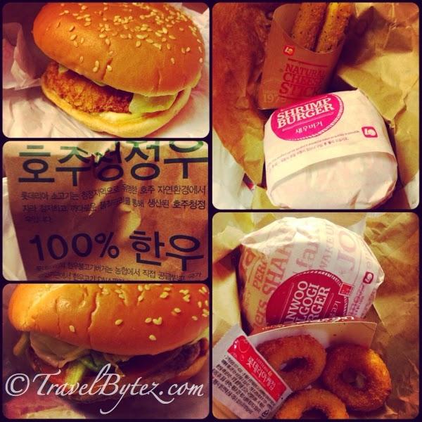 Lotte burgers