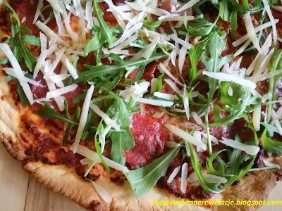 pizza z parmezanem