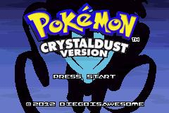 pokemon crystaldust rom download gbahacks