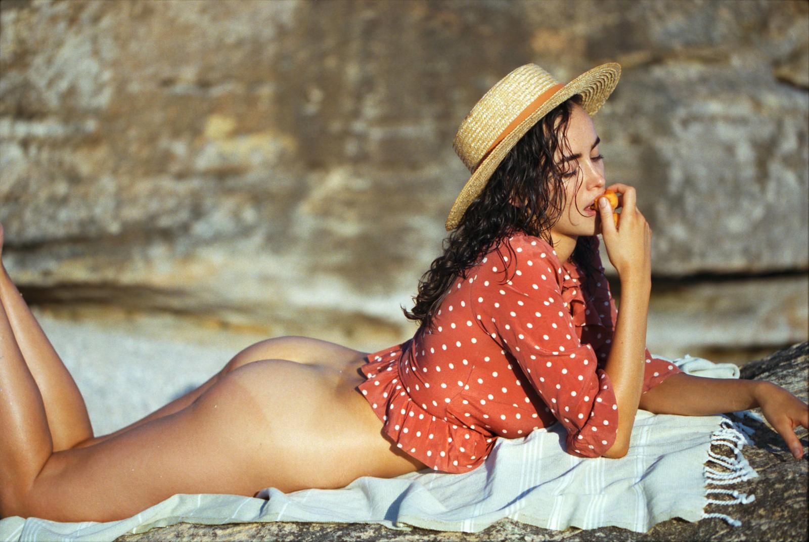 Implied nude snake photoshoot | photoshoot ideas