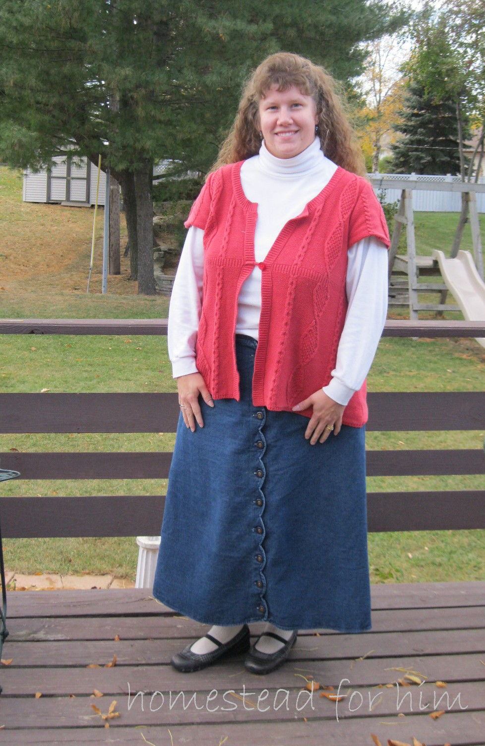 dfdce3a35 Our Homestead For Him: Why I Wear Skirts