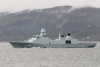 Iver Huitfeldt-class frigate buatan Denmark