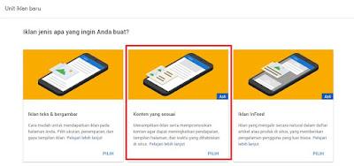 Cara Mendapatkan Iklan Matched Content (Konten yang Sesuai) dari Google Adsense