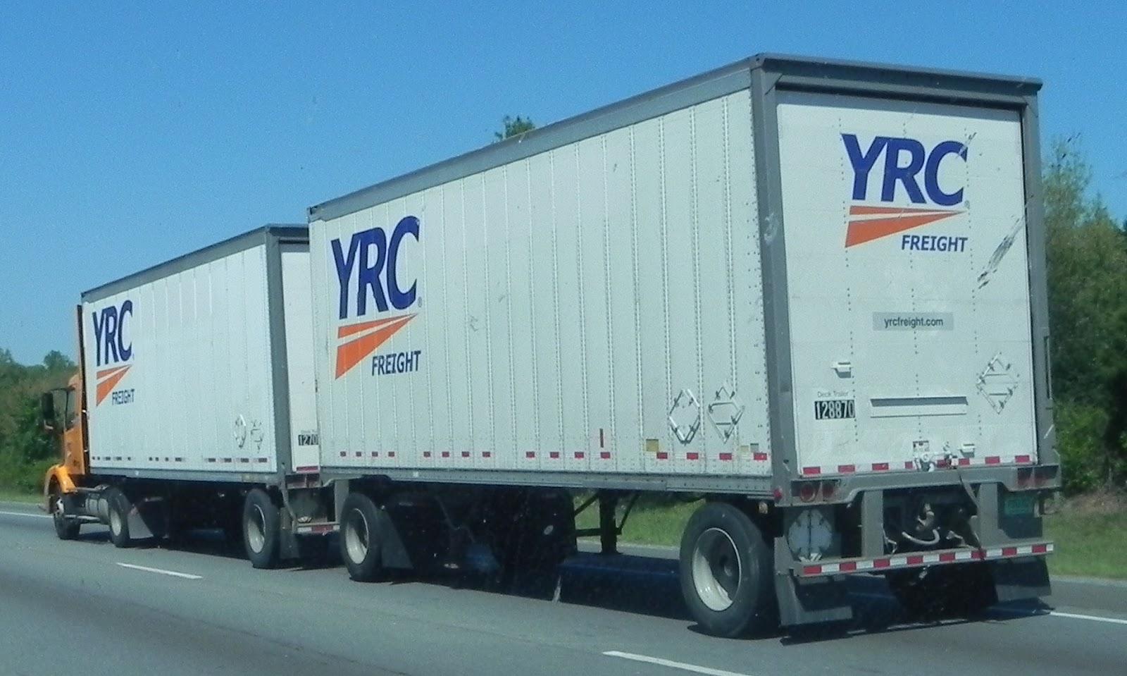 YRC Freight | Trucks On American Interstates