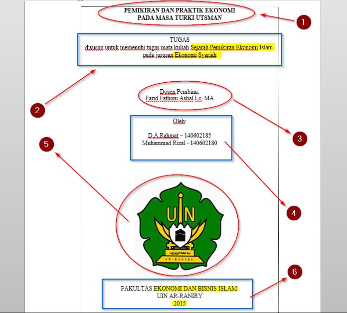 Contoh Karya Ilmiah Fakultas Ekonomi Manajemen Contoh Niku