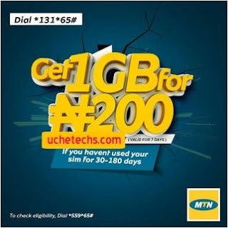 MTN 1GB For N200