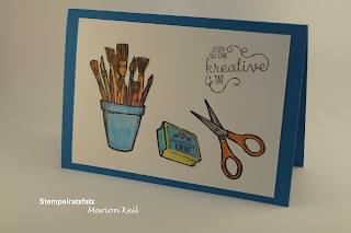 Karte  Koloration mit Stampin´ Up!