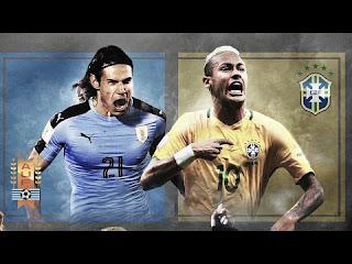 مشاهدة مباراة البرازيل واوروجواي بث مباشر بتاريخ 16-11-2018 مباراة ودية