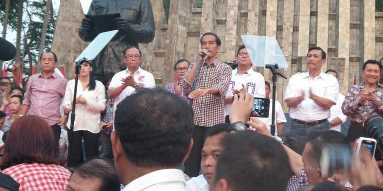 Jokowi  Yakin Suara Sumut Diraih 65 Persen