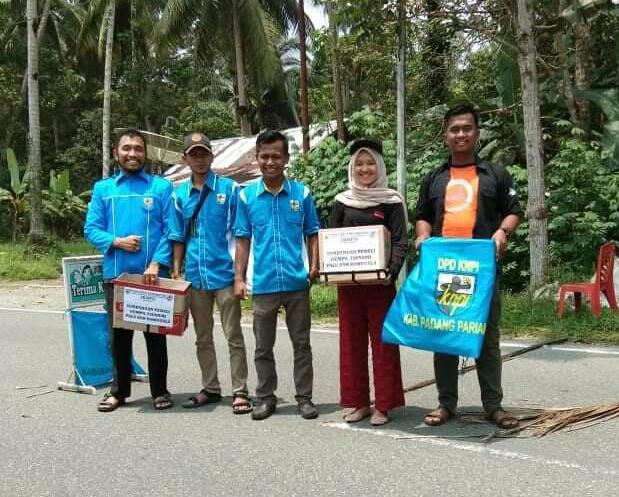 KNPI Patamuan Galang Dana Untuk Korban Gempa Tsunami Palu