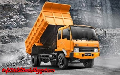 Dump truk fuso mitsubishi