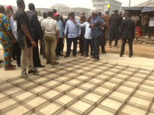 PROJECT TOUR: Abia governor inspects road projects in Aba (Photos)