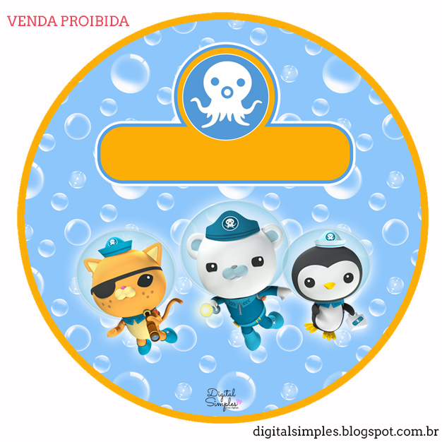 photo regarding Octonauts Printable known as The Octonauts Free of charge Printable Package. - Oh My Fiesta! within english