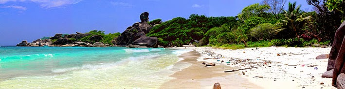 Holiday on one of the best places to visit the Similan Islands in south Thailand