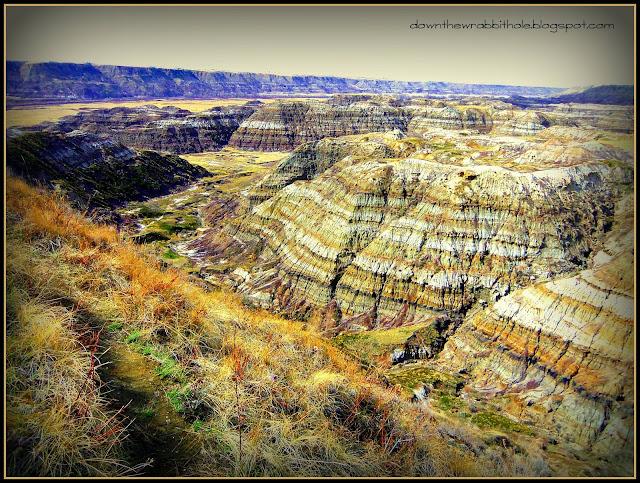 Drumheller Alberta, Dinosaur Trail, Horse Thief Canyon