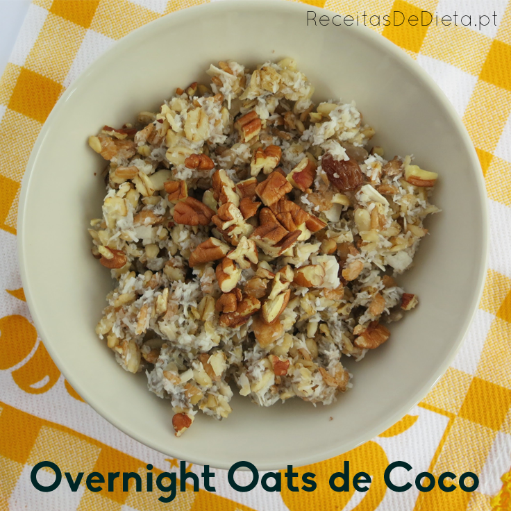 Overnight Oats de Coco
