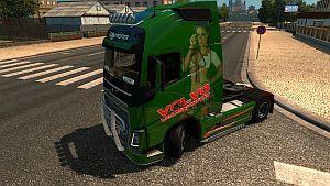 Truckers Drifting skin for Volvo 2012