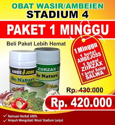 Obat Wasir Luar Stadium 4