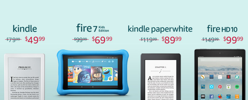 Amazon: Kindle and Fire Tablet Deals!