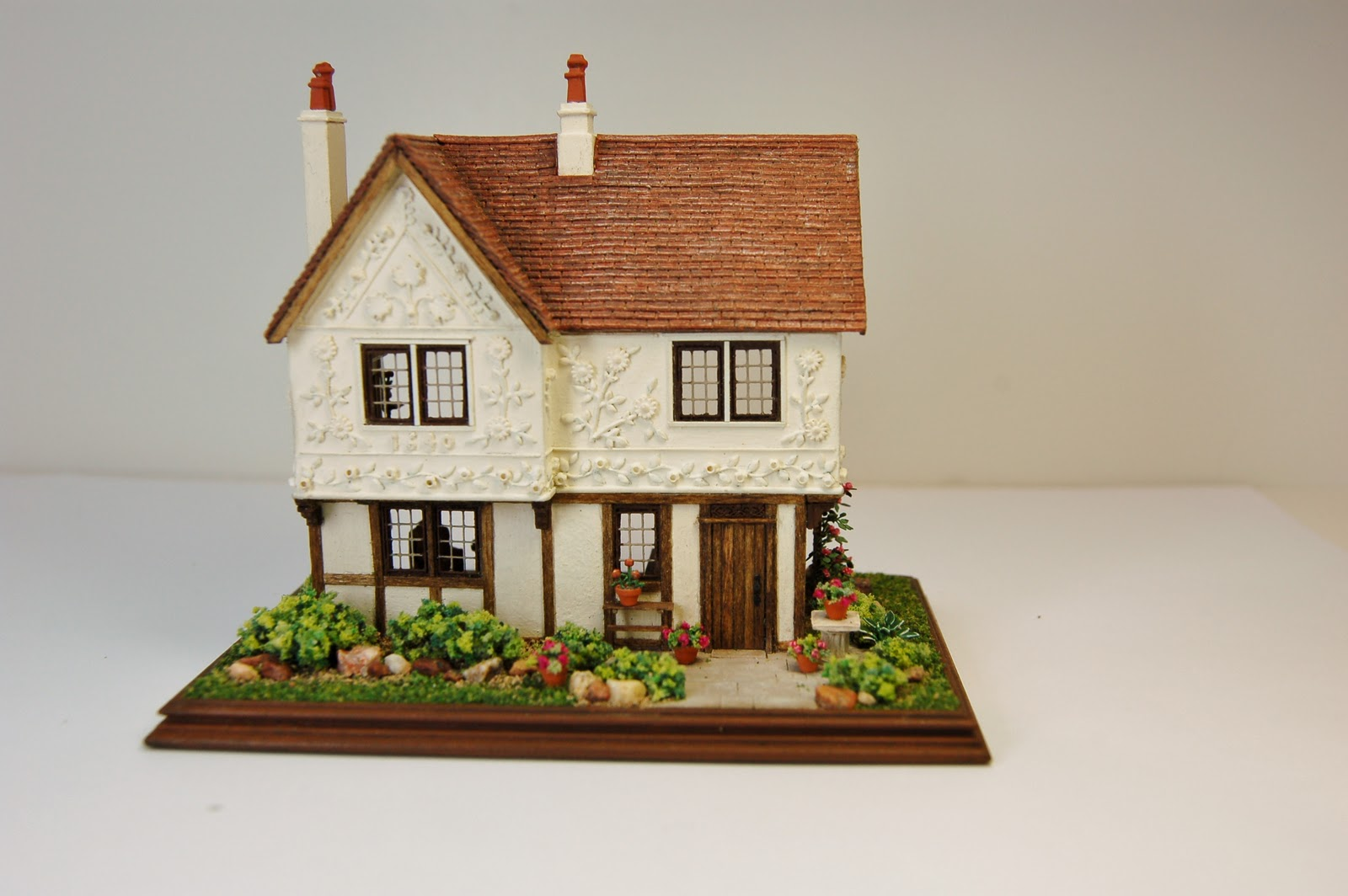 Fantastic Miniature Miniatures Nell Corkin A Pargeted House Largest Home Design Picture Inspirations Pitcheantrous