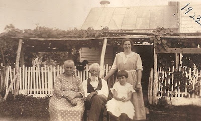 Coleman 4 generations Jollett Reunion Harriston, Virginia 1923
