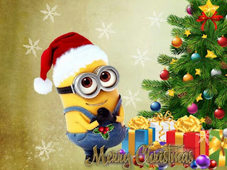 Merry Christmas Minions HD Wallpapers