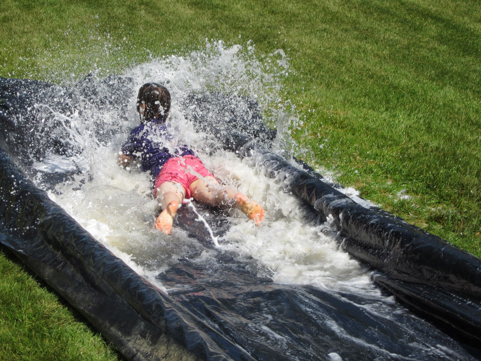 Raising Young Ones Homemade Slip N Slide