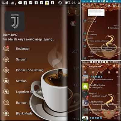 BBM Mod CLONE Tema Coffe