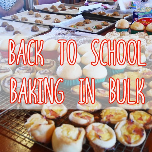 Sunday, April 12 Mega-lunch-box-bake off, how we made 500 school ...