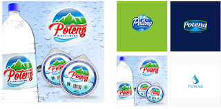 Desain Air Minum Kemasan Botol