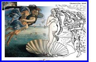 O nascimento de Vênus - Botticelli - www.professorjunioronline.com