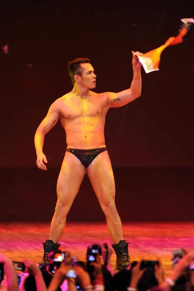 Jake Cuenca Underwear Bench Universe by Bruce Casanova