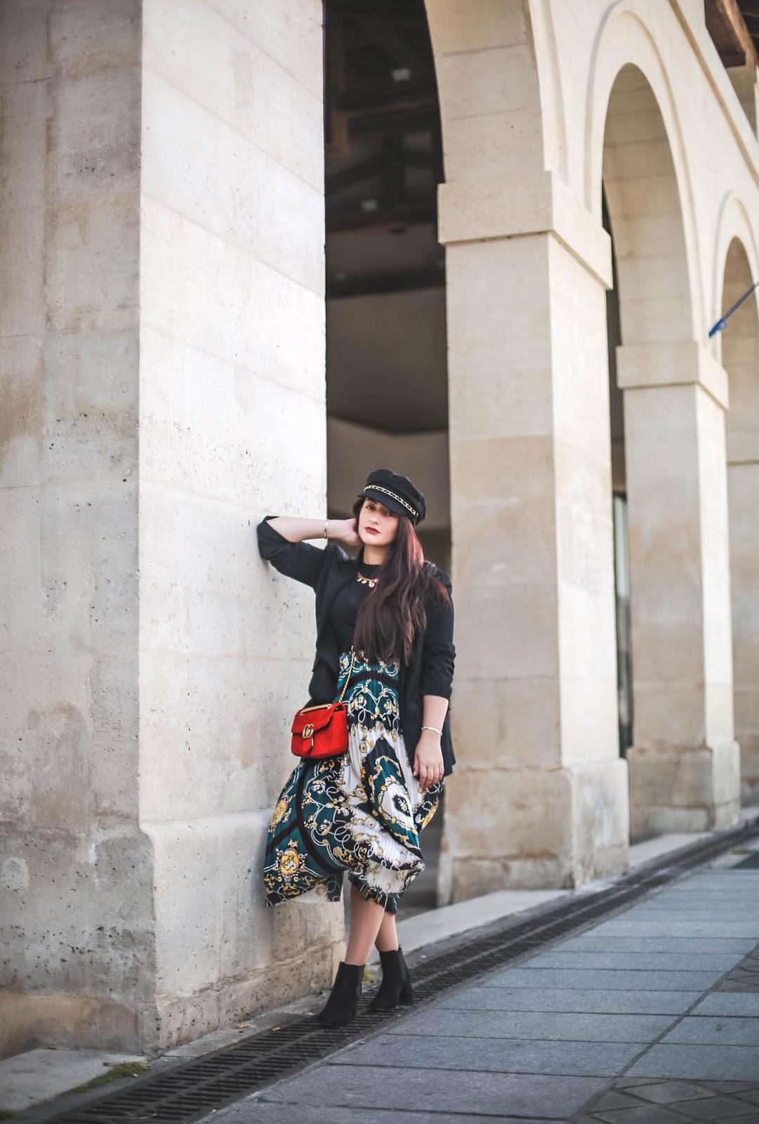 motif foulard tendance blog mode