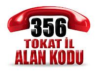 0356 Tokat telefon alan kodu