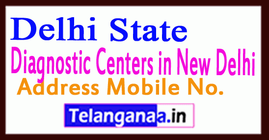Diagnostic Centers in New Delhi
