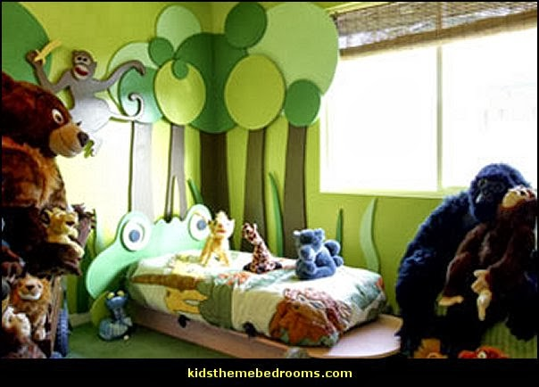 jungle baby bedrooms - jungle theme nursery decorating ideas - jungle wall murals - toddler jungle bedroom ideas - jungle animal decor