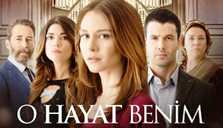 Efsun and Bahar, introducing the series and cast (O hayat benim English translated summaries)
