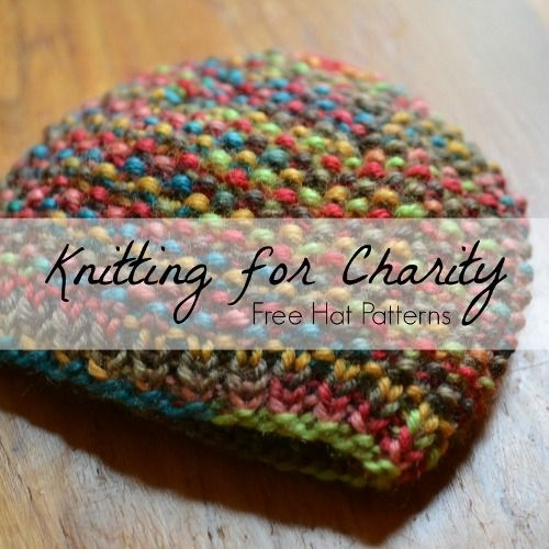Knitting for Charity - 29 Free Hat Patterns