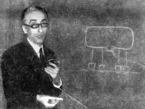 Жак-Ив Кусто объясняет проект подводного дома Диоген