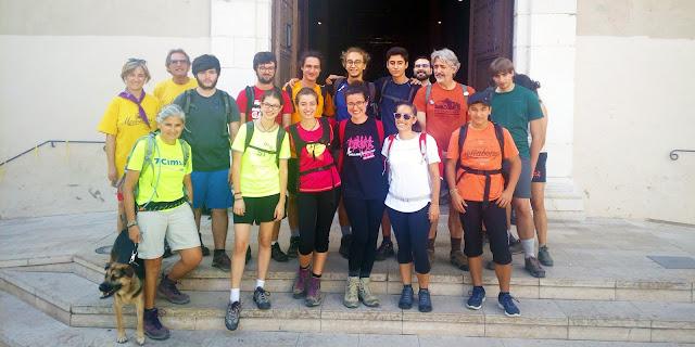 Romeria a Montserrat 2018 de les parròquies de Vilanova i la Geltrú