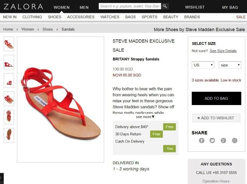 shopback singapore zalora online fashion shopping sale