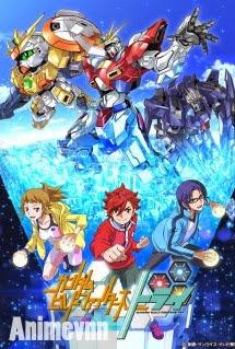 Cuộc Chiến Gundam Phần 2 - Gundam Build Fighters SS2 2014 Poster