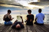 Ποίηση στην παραλία Θεσσαλονίκης