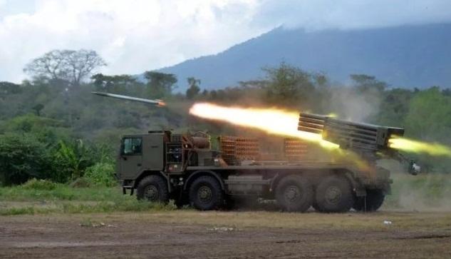 Detail spesifikasi Roket RM 70 Vampir Dan RM 79 Grad MLRS andalan TNI AL